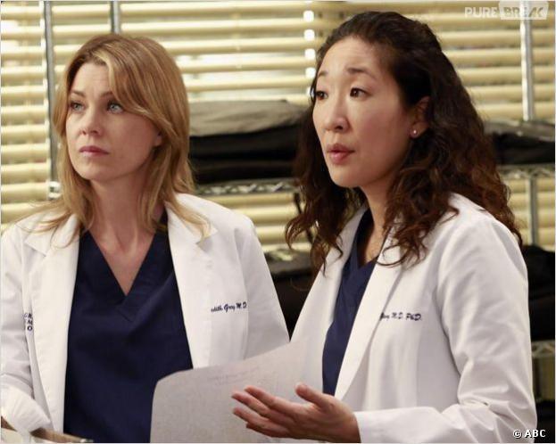 Grey's Anatomy : Meredith et Cristina enterrent la hache de guerre
