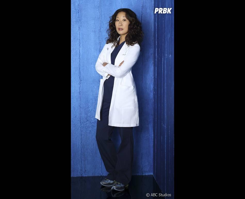 Grey's Anatomy saison 10 : Sandra Oh, aka Cristina, sur une photo promo