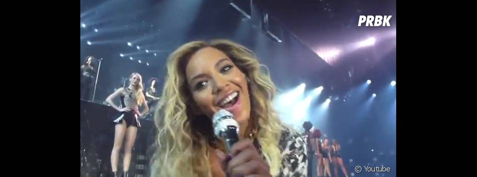 Beyoncé proche de ses fans