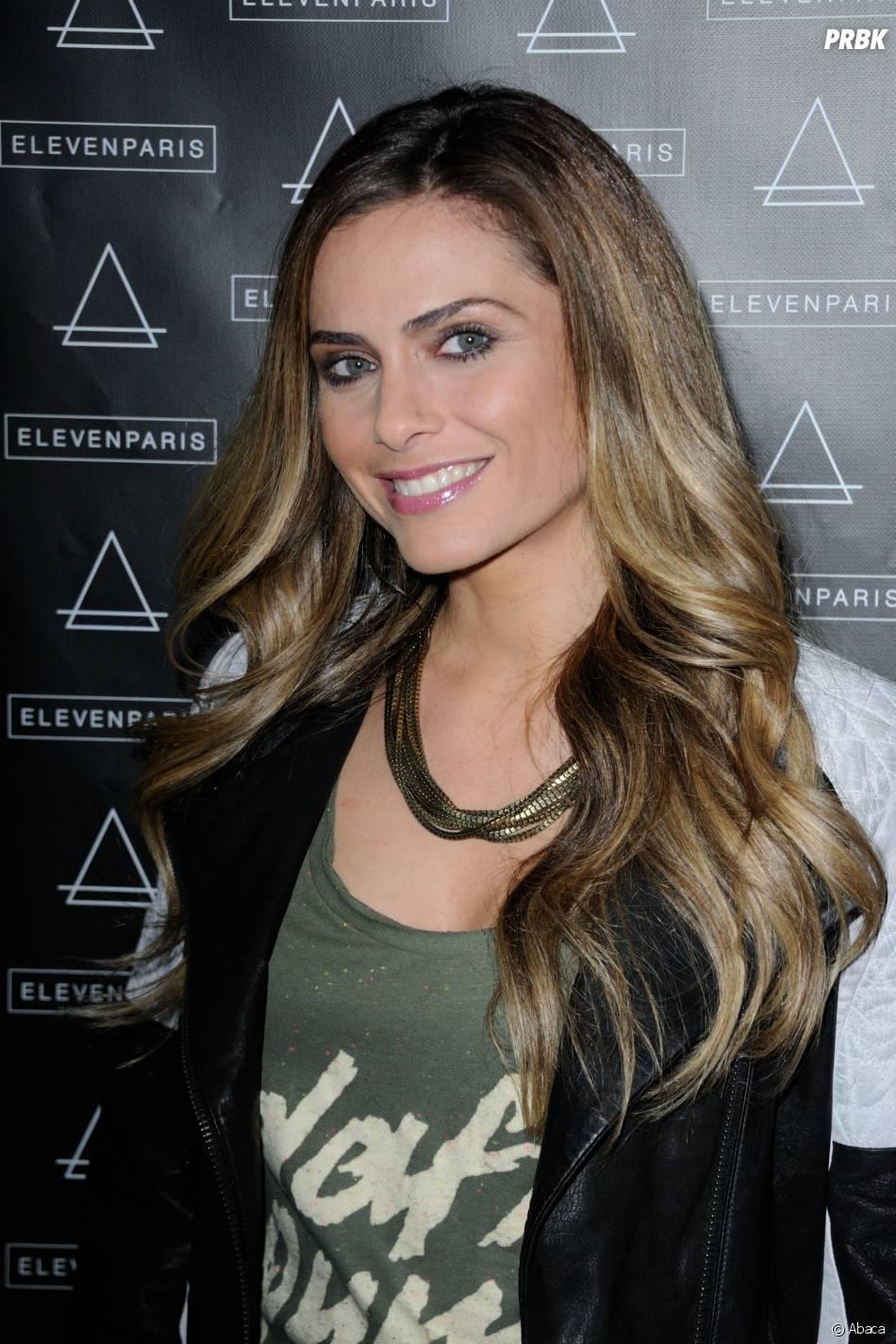 Clara Morgane, invitée de la soirée Eleven Paris à la Gaité Lyrique et au VIP Room, le 4 mars 2014