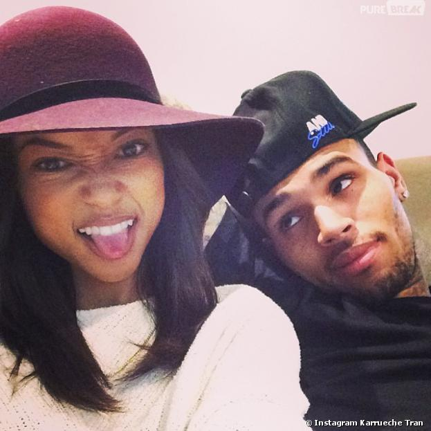 Chris Brown et Karrueche Tran : le couple s'est séparé