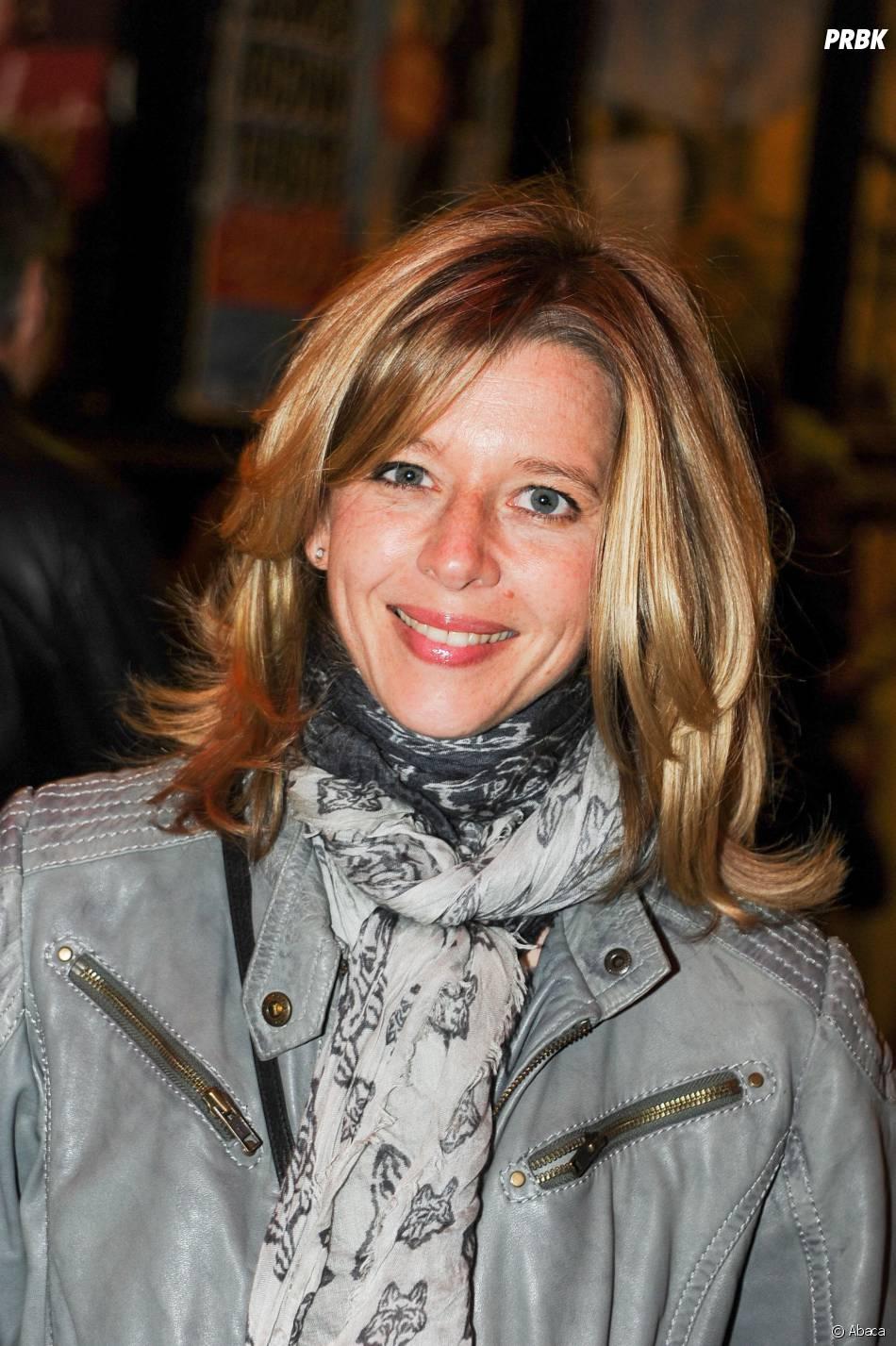 Wendy Bouchard au concert de Carla Bruni à l'Olympia à Paris, le 11 mars 2014