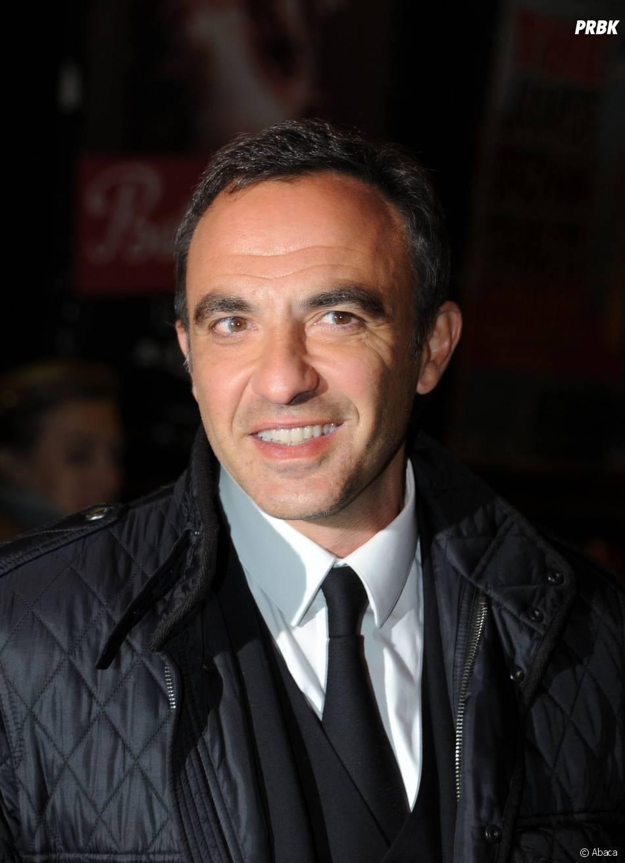 Nikos Aliagas au concert de Carla Bruni à l'Olympia à Paris, le 11 mars 2014