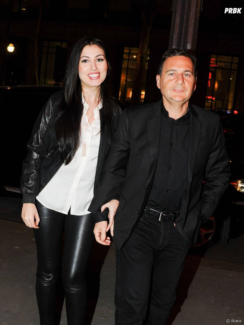 Yamina et Eric Besson au concert de Carla Bruni à l'Olympia à Paris, le 11 mars 2014