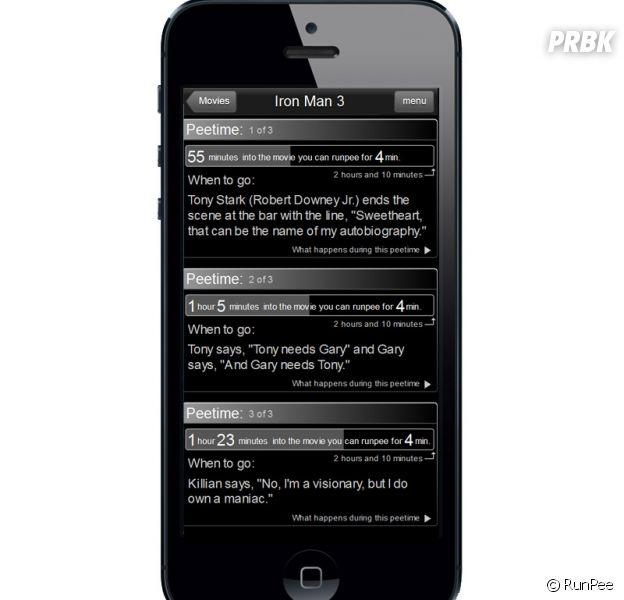 RunPee : l'application qui te dit quand aller faire pipi pour ne rien rater d'un film au cinéma