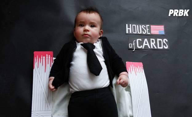Bébé déguisé en personnage de série TV 2