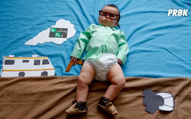Bébé déguisé en personnage de série TV 3