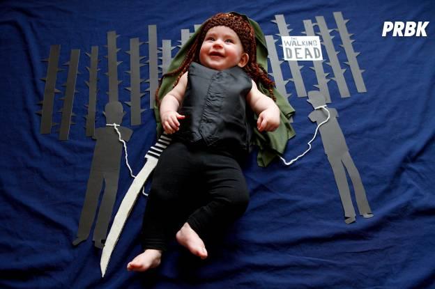 Bébé déguisé en personnage de série TV 6
