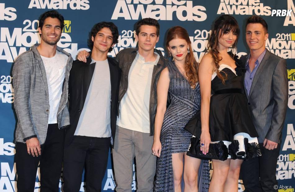 Teen Wolf : Crystal Reed et l'équipe de Teen Wolf au début de la série