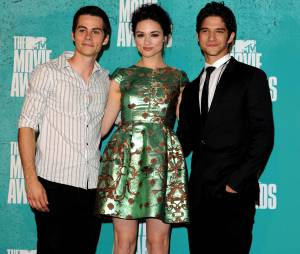 Teen Wolf : Crystal Reed, Dylan O'Brien et Tyler Posey