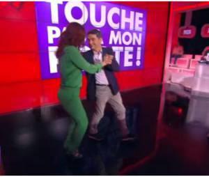 Audrey Fleurot et Thierry Moreau dansent le Tango dans Touche pas à mon poste, le 20 mars 2014
