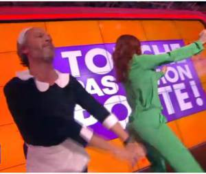 Audrey Fleurot en mode booty shake dans Touche pas à mon poste, le 20 mars 2014