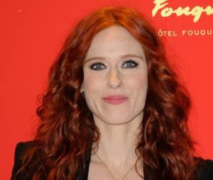Audrey Fleurot sur le tapis rouge de la soirée des César 2014