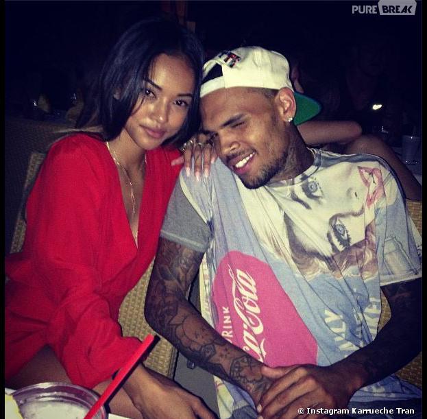 """Chris Brown et Karrueche Tran : un couple adepte du """"Je t'aime, moi non plus"""""""