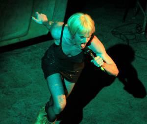 Neil Patrick Harris en drag queen dans la comédie musicale Hedwig and the Angry inch au Belasco Theater de New York, le 31 mars 2014