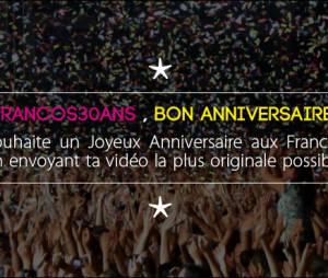 Francofolies 2014 : des lots à gagner pour le 30ème anniversaire du festival