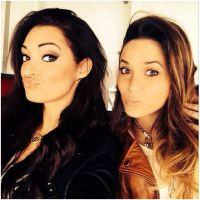 Capucine Anav et Emilie Nef Naf : entre copines pour soutenir Jérémy Ménez