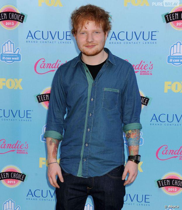 Ed Sheeran s'est auto-clashé pendant une interview