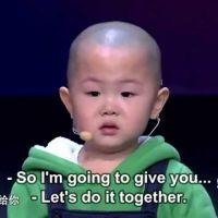 [VIDÉO] La danse de ce jeune chinois de 3 ans va vous faire craquer