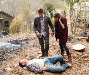 The Originals siason 1, épisode 19 : Daniel Gillies et Phoebe Tonkin sur une photo
