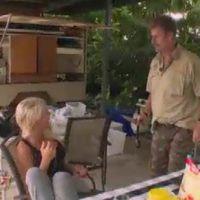 """Amélie Neten (Les Anges 6) """"agressée"""" au couteau pendant son Jungle Trip !"""