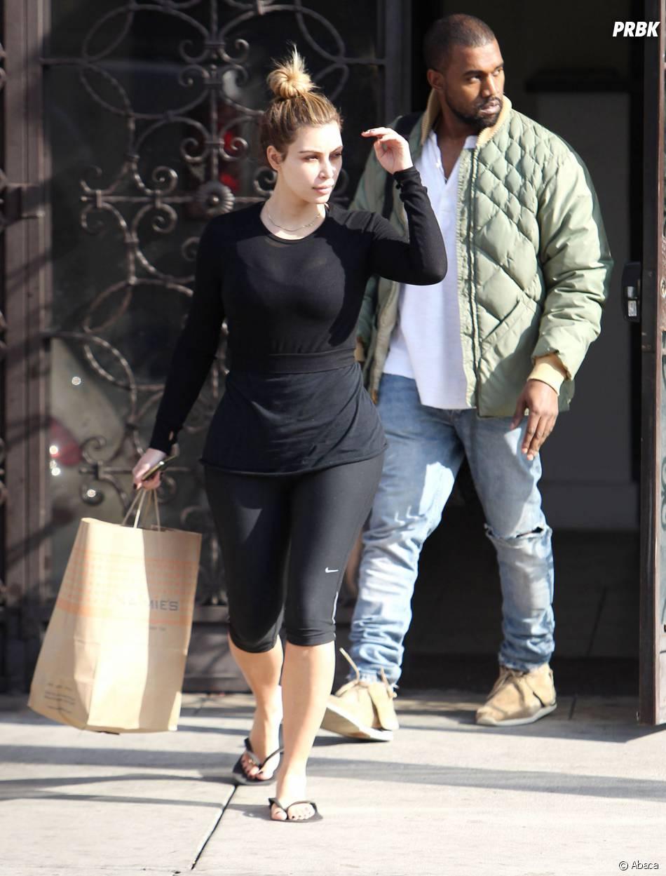 Kim Kardashian et Kanye West se sont rendus à Paris pour la robe de mariée.