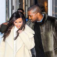 Kim Kardashian de passage à Paris avec Kanye West pour sa robe de mariée