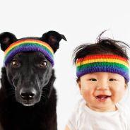 [PHOTOS] Bébé et chien abandonné : les émouvants portraits de Grace Chon