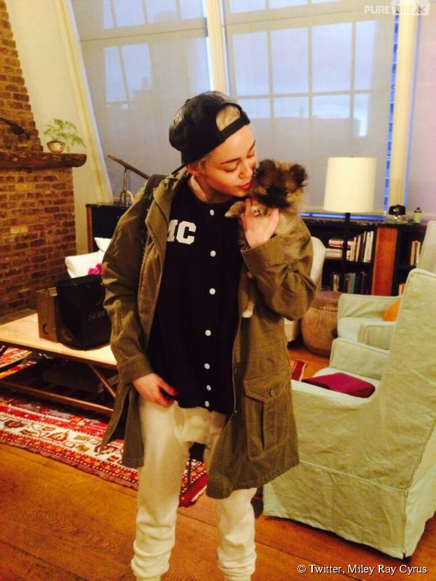 Miley Cyrus se sépare déjà de Moonie, son nouveau chien