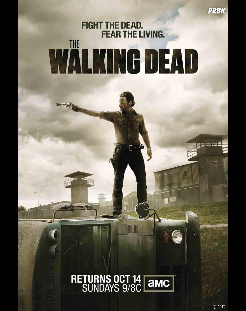 Walking Dead saison 5 revient en octobre 2013 sur AMC