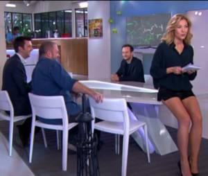 C à Vous : Claire Barsacq, ses jambes fascinent le public