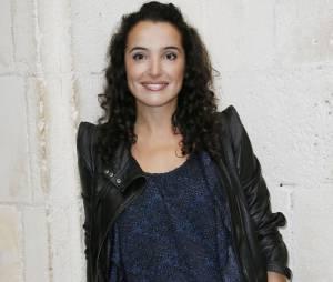 Isabelle Vitari au 15ème festival de fiction TV, le 14 septembre 2013 à La Rochelle