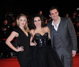 Isabelle Vitari entourée de Joy Esther et Gil Alma aux NRJ Music Awards 2013