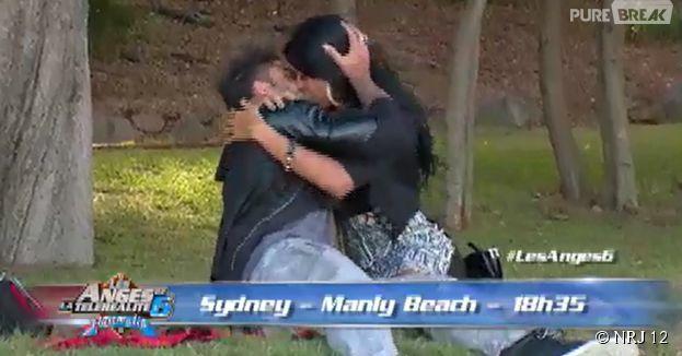 Les Anges de la télé-réalité 6 : Shanna et Thibault s'embrassent
