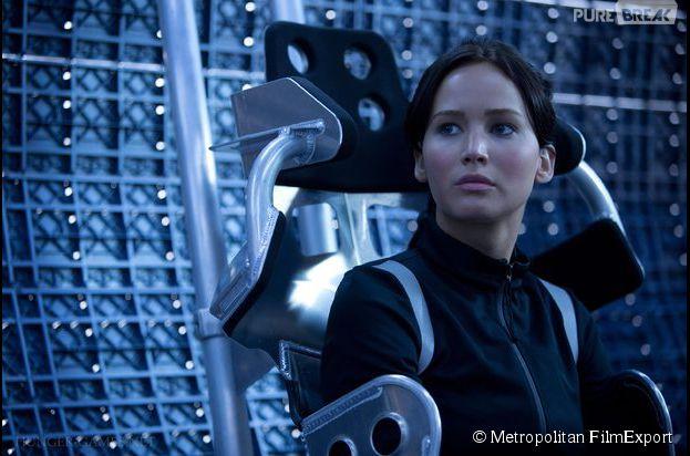 Hunger Games 3 : Jennifer Lawrence et l'équipe du film en tournage à Ivry sur Seine