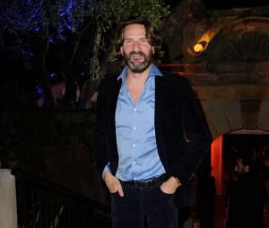 Frédéric Beigbeder à la soirée Canal + au Festival de Cannes 2014, le vendredi 16 mai
