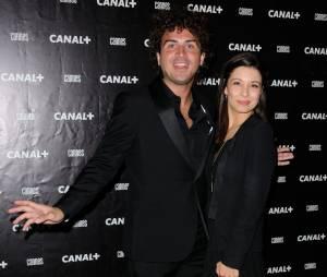 Maxime Musqua à la soirée Canal + au Festival de Cannes 2014, le vendredi 16 mai
