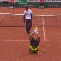 Gaël Monfils fait le show à Roland Garros : battle de danse avec Bob Sinclar