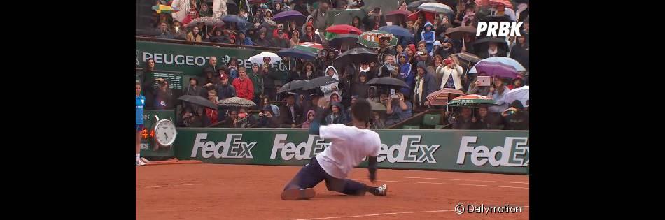 Roland Garros 2014 : Gaël Monfils déchaîné lors du Battle de danse