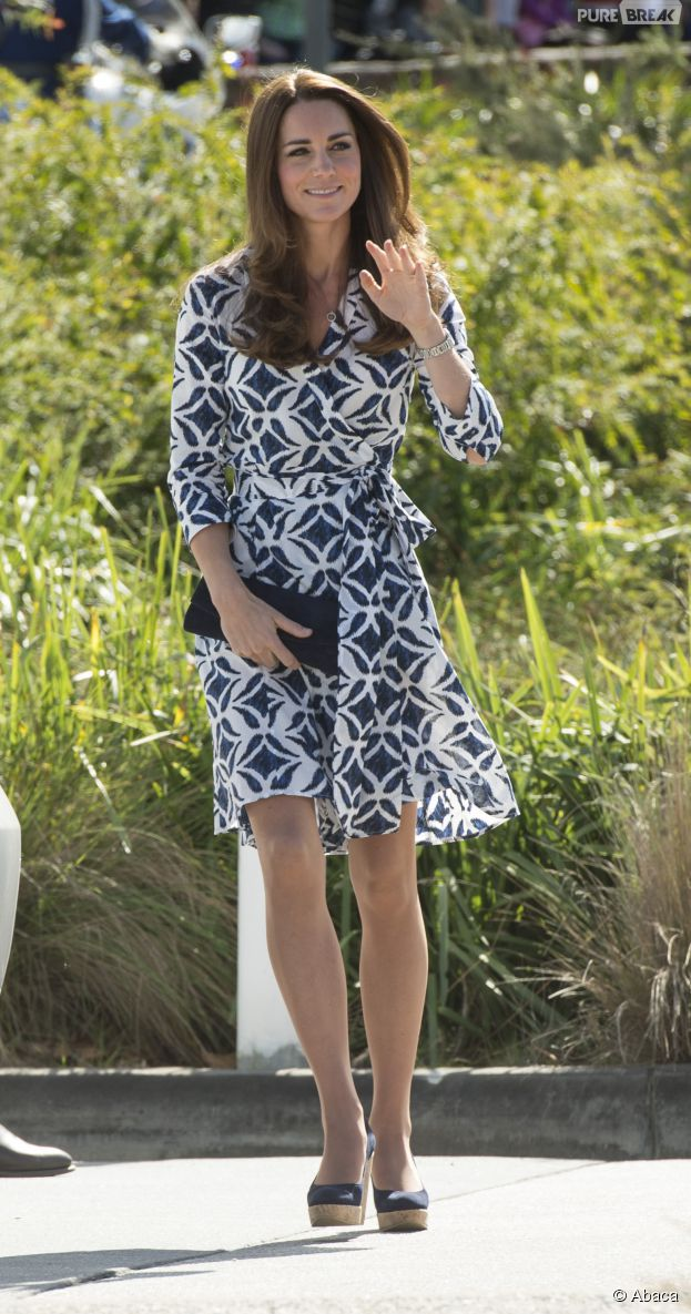 Kate Middleton photographiée fesses nues en Australie