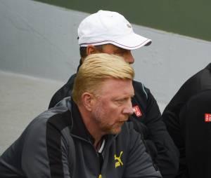 Boris Becker au tournoi de Roland-Garros, le 28 mai 2014 à Paris