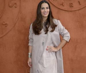 Elisa Tovati à Roland Garros, le 30 mai 2014
