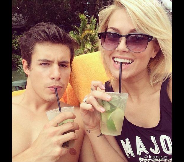 Caroline Receveur et son petit ami Valentin Lucas : direction Miami pour des vacances en amoureux