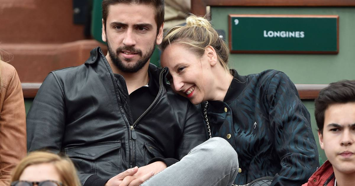 audrey lamy en couple roland garros paris le dimanche. Black Bedroom Furniture Sets. Home Design Ideas