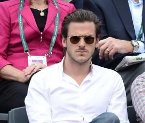 Gaspard Ulliel classe à Roland Garros le 3 juin 2014