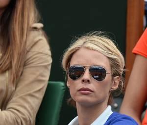 Sylvie Tellier à Roland Garros le 3 juin 2014