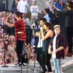 Zayn Malik (One Direction) : il salue la foule de Manchester... à Edimbourg