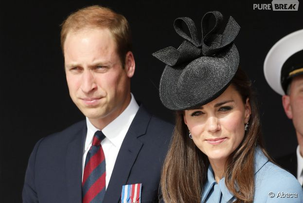 Kate Middleton et Prince William en couple pour les commémorations du Débarquement, le 6 juin 2014 à Arromanches