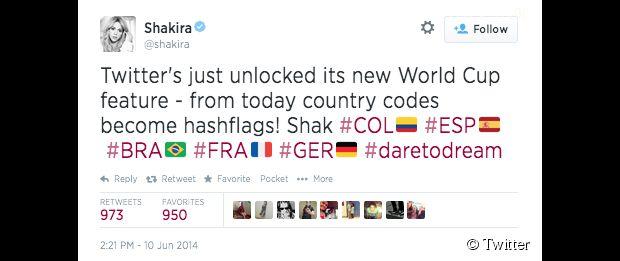 Twitter invente les hashflags pour soutenir votre équipe pendant la Coupe du Monde 2014