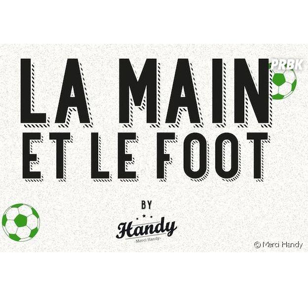 La Main et le Football : l'infographie délirante de Merci Handy